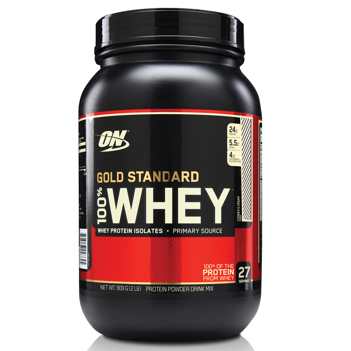 Whey Protein Gold Standard Optimum 100% Concentrado Nutrition 900g