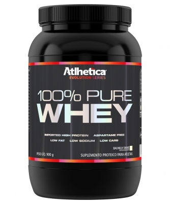 Whey Atlhetica 100% Pure Evolution Series 900g