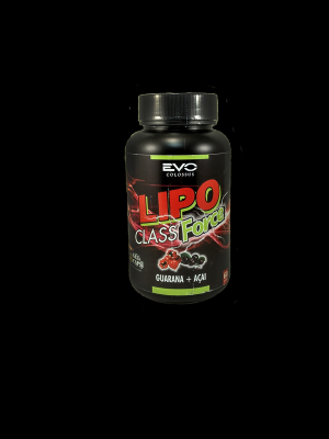 Lipo Class Force Guaraná + Açaí 60 Capsulas